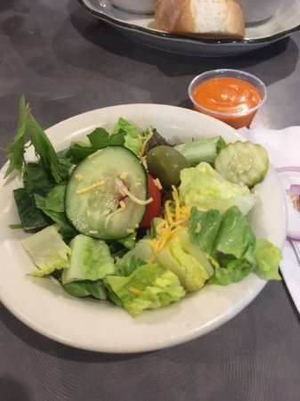 fresh,cold salad