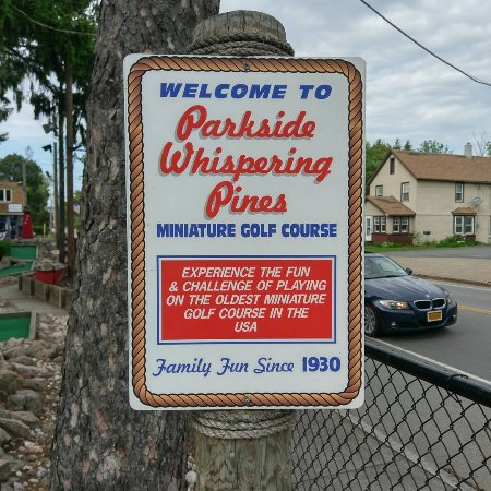 Parkside's Whispering Pines Miniature Golf