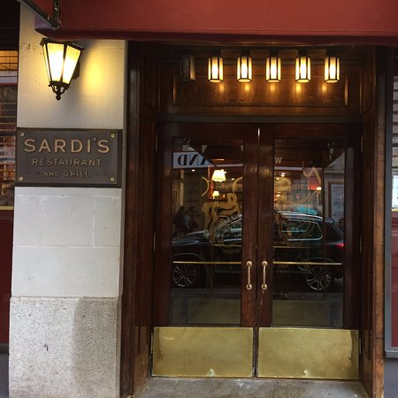 Entry Door Picture Of Sardis Restaurant New York City Tripadvisor