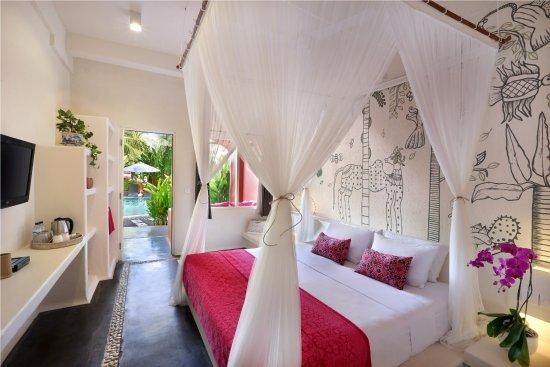 PinkCoco Bali: Garden room