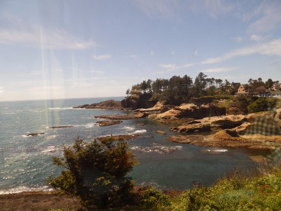 Depoe Bay, OR: our view!