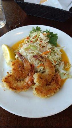 Depoe Bay, OR: coconut shrimp