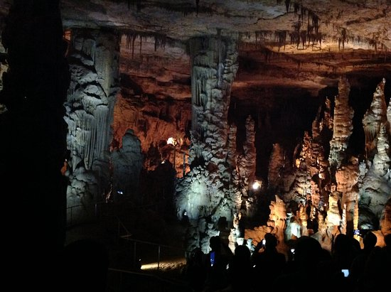 Woodville, AL: This is the main chamber in the caverns.