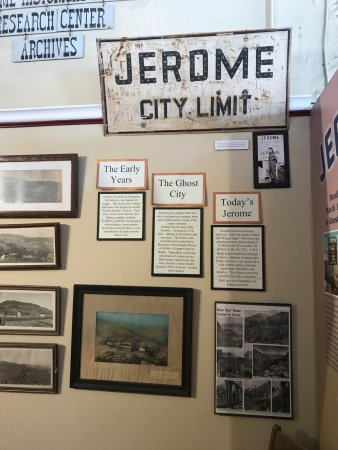 Jerome, AZ: displays
