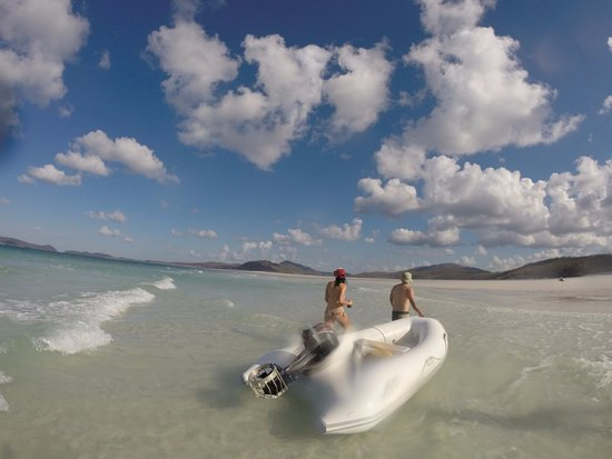 Whitehaven Beach - the world's best beach - Picture of