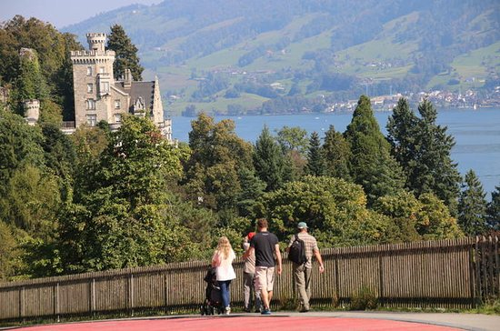 Half-Day Walking Tour of Lake Lucerne Villas and Castles