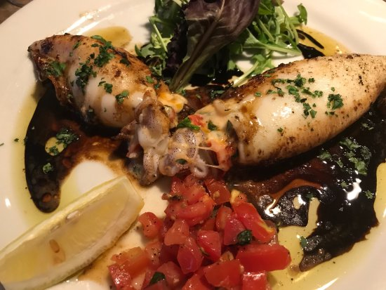 Santa Ynez, CA: Stuffed Squid