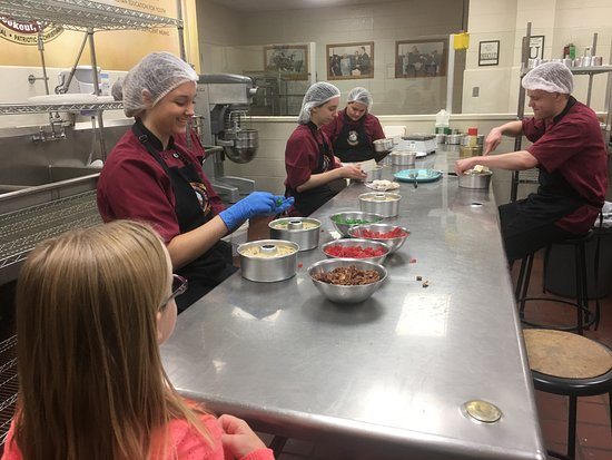 The Keeter Center at College of the Ozarks - Lodging: jelly kitchen