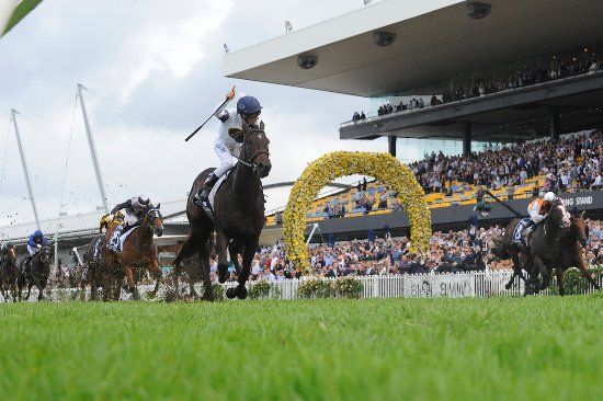 Rosehill, Australia: She Will Reign, 2017 $3.5million Longines Golden Slipper winner