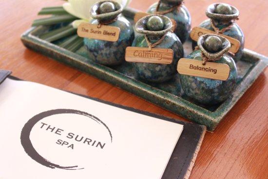 Choeng Thale, تايلاند: The Surin Spa Menu