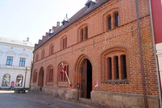 Det Gamle Raadhus: Set fra Stenbogade