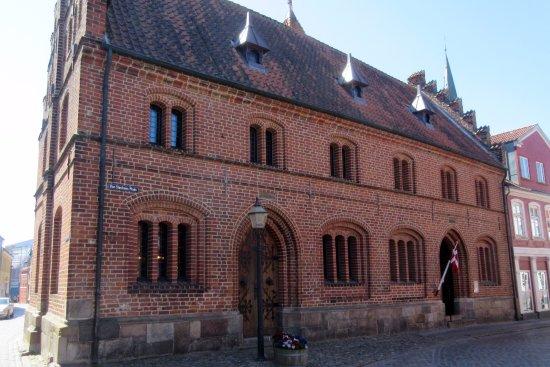 Det Gamle Raadhus: Set fra Dagmarsgade
