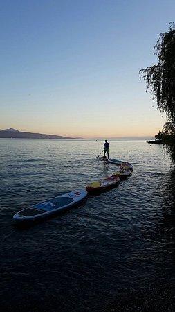 Простак, Швейцария: Sunset dans un lieu idyllique