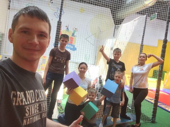 Trampoline Center FlyCity.RU