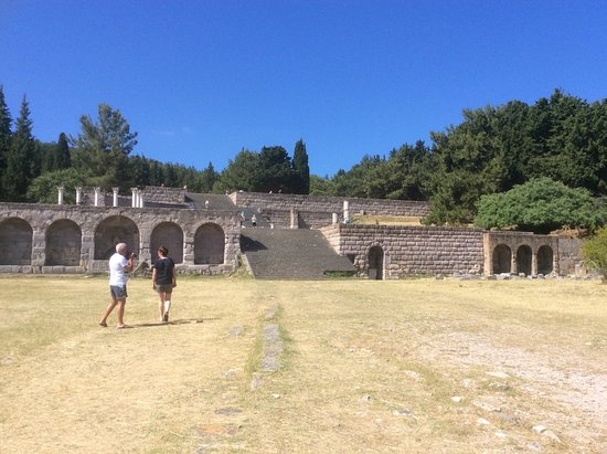 Asklepion: Ruines