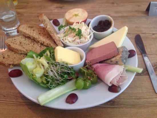 Kentisbeare, UK: Awesome food
