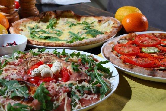Limoncello: Настоящая итальянская пицца испеченная в дровяной печи