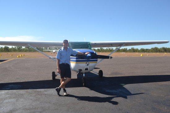 The Scenic Flight Company Kakadu: Our pilot