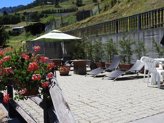 Hotel Le Clocher: Solarium