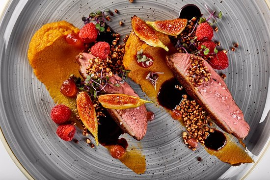 Amarylis Restaurant : Duck breast