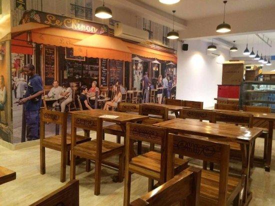 Cafe Ohiyo interior