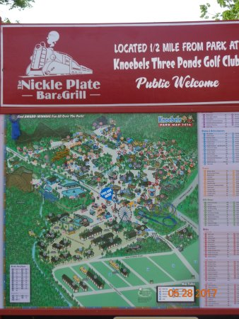 Knoebels Campground Map Knoebels map   Picture of Knoebels Amusement Resort, Elysburg