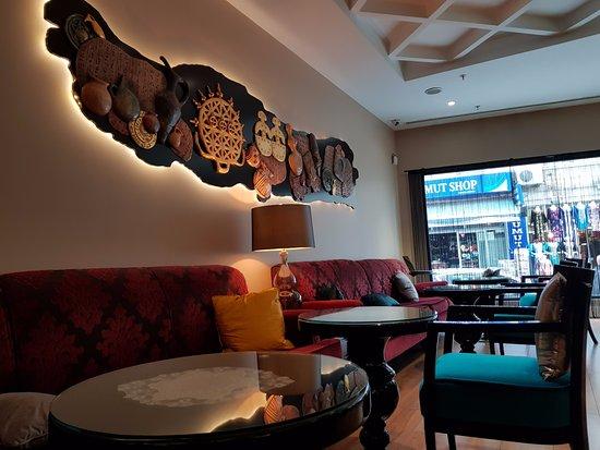 Neorion Hotel : Lobby corner