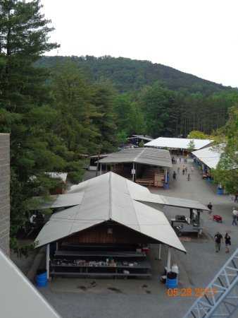 view of the picnic pavilions - Picture of Knoebels Amut Resort ... Knoebels Amut Park Campground Map on