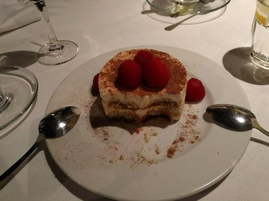 The Grill at 424 : One of the best Tiramisu's I've ever eaten
