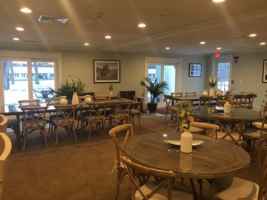 Sharon, CT: New Banquet Room