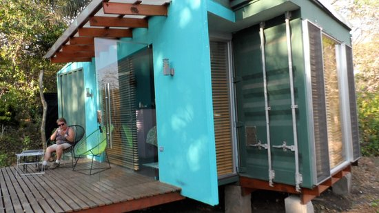 Casa Rural Aroma de Campo: notre bungalow- contener