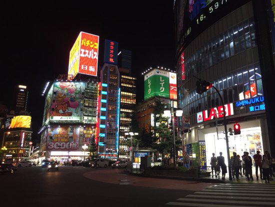 Shinjuku West Exit Camera Town