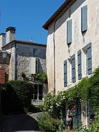 Saint Sauvant, Francia: Entrée de l'hotel