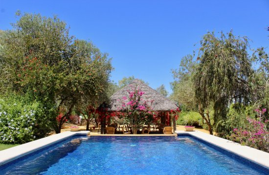 Second Pool Hacienda de San Rafael