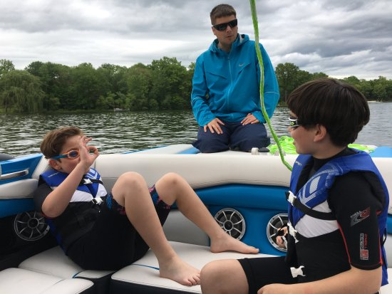 Lakeside Watersports: Excellent instruction - and gets the kids attention