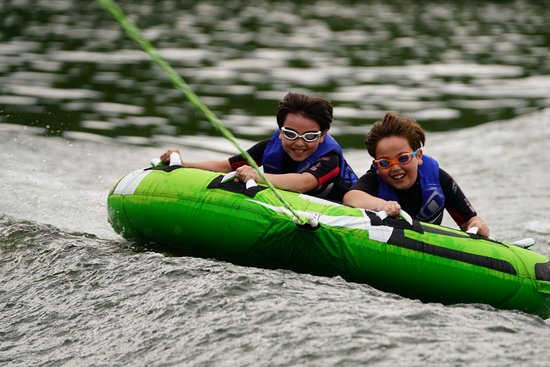 Lakeside Watersports: Tubing Fun!