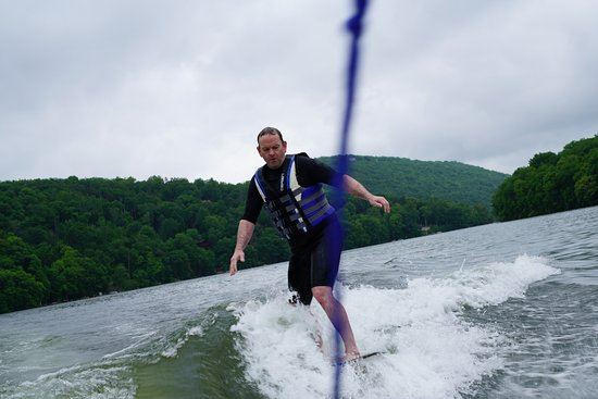 Lakeside Watersports: They even taught this old dog a new trick - and the boys learned too!