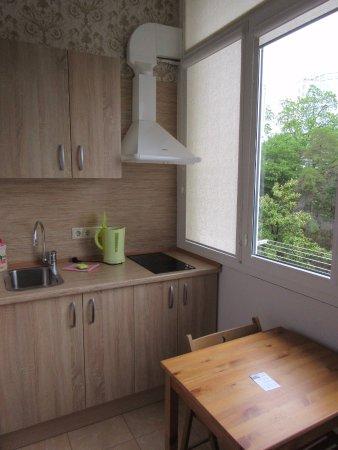 Светлана Санаторий: Кухня на балконе