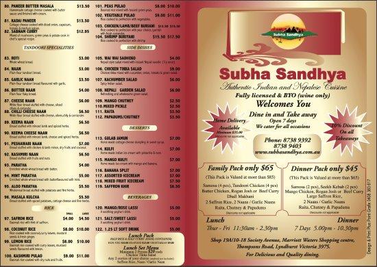 Indian Food Lyndhurst