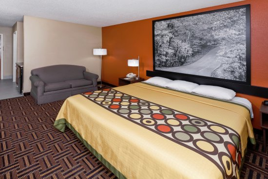 Rochester, IN: 1 King suite room