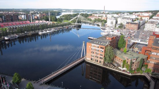 Original Sokos Hotel Ilves: View from Presidential Suite #1807