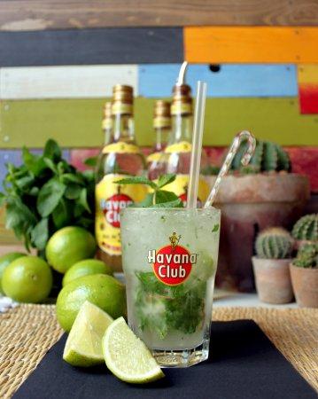 Mojito Classic (Havana 3 ans, ciron vert, menthe fraiche) ou les saveurs de Cuba...