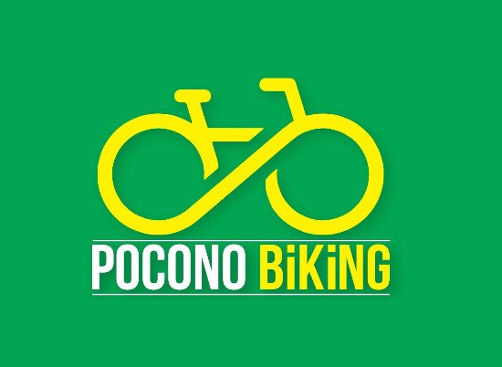 Pocono Biking : Look for the logo in Jim Thorpe!