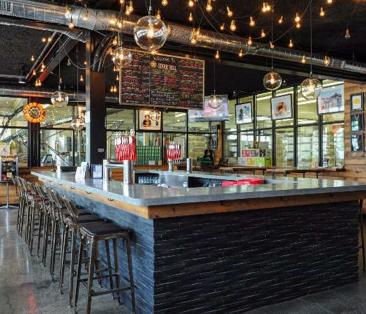Starr Hill Brewery: Pull up a chair and try one of our 24 rotating taps!