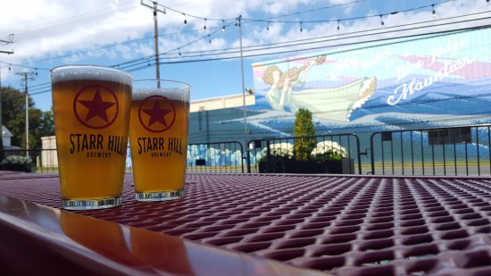 Starr Hill Brewery: Enjoy a pint on our dog-friendly patio!