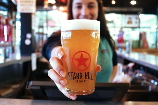 Starr Hill Brewery: Hope to see you for a pint soon - cheers!
