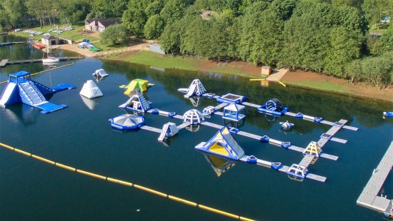 ‪‪Oakham‬, UK: New Aqua Park Layout for 2017 - 40 obstacles covering 8000 Sq Metres‬