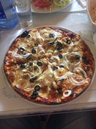 Mollina, Spanien: Pizza rustica