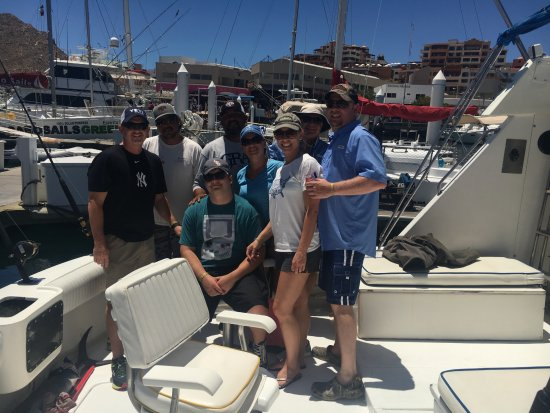 Winner 7 Sport Fishing in Cabo: Our Cabo Group and Cowboy Crew