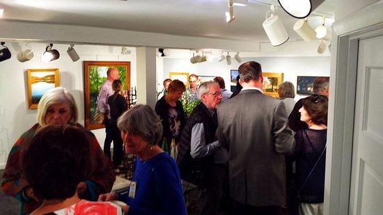 Washington, VA: r.h. ballard gallery reception (2017).